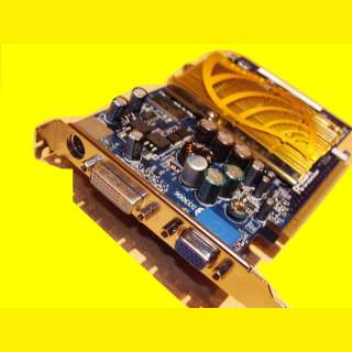 PC Grafikkarte Gigabyte GeForce NV 6645 128MB PCI Express