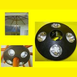 LED Gartenschirmleuchte Ideal für Terrasse/Camping/Strand