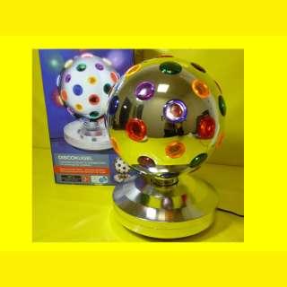 DISCO-PARTY-KUGEL - Rotierende Leuchtkugel mit 43 farbigen Linse