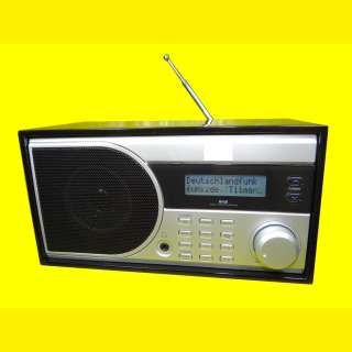 Digitalradio DAB+ UKW / LCD-Display / Alarmfunktion