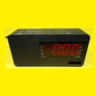 Uhren Radio Wecker / FM / MW-Tuner / LED
