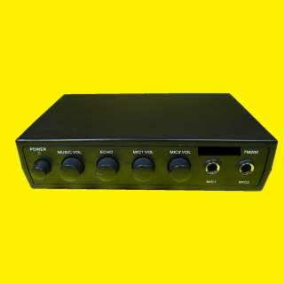 Mischpult/Verstaerker und Karaoke Anlage/12Volt Anschluß/Anschluss an den DVD-Player/ Fernseher/Boxen