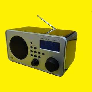Digitalradio DAB+ / DAB / UKW / LCD-Display / Kopfhöreranschluss