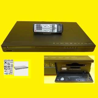 DVD-Player/mit Kartenlesegerät / SD/MMC+USB /5.1-Ausgang/SW