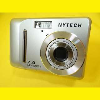 "Digitalkamera 7,0 Megapixel CCD/2,5"" LTPS TFT Farb-Display/2 GB SD Karte/Aluminiumgehäuse"