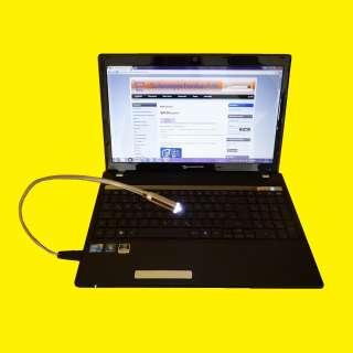 USB LED Tastaturlicht für PC und Notebook biegsam mit flexiblem Schwanenhals