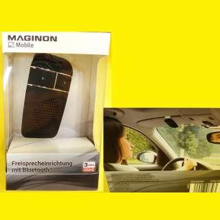 PKW Bluetooth-Freisprechanlage für Mobiltelefone 12 V Maginon