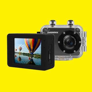 "Sport- Digitalkamera/Active cam2.1/2.0"" Zoll TFT LCD/Full HD 1080p/120-Grad°/USB /microSD/wasserdicht/schwarz"