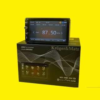 Autoradio /Navigation/Digital-Receiver/ 2 DIN-6,95 Zoll / DVB-T Tuner / USB / Aux-In / Bluetooth