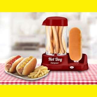 Party Hot Dog maker / 5 Heiz-Stufen/Ausziehbare Krümmelschale/Beper