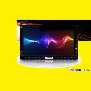 AUTORADIO 2 DIN HT-869/USB/Aux/Abspielen von Audio und Videodateien