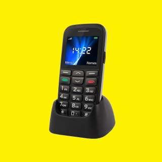 "Duo Sim Handy 2,2 "" Zoll, Große Tasten / SOS Funktion/VGA-Kamera mit Docking StationVertis 2210 Easy"