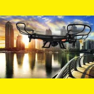 Drohne Overmax X-Bee Drone 3.2 Quadrocopter mit HD-Kamera, Flugzeit 30 Minuten, 1 GB SD + Zubehör