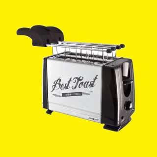 Toaster TOASTER/mit  Stopptaste/700W/Edelstahl/ STAINLESS STEEL BREAD
