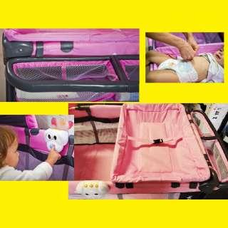 Multifunktionale Reisebett Baby/Kinderreisebett/Kinderbett /Klappbett/Laufstall/Wippe/Wiege