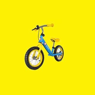 """Laufrad / 12 """" Zoll / Hinterradbremse / Einstellbarer Rahmen und Sitz/Blau oder Pink"""