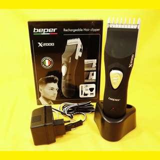 Wiederaufladbarer Haarschneidemaschine Bartschneider Trimmer Rasierer /Schnittlänge: 1-17 mm