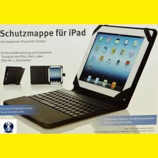 Schutzmappe/Tasche/Hülle/für iPad,iPad 2/iPad 3/Bluetooth Tastatur Lithium-lonen-Akku/USB /schwarz