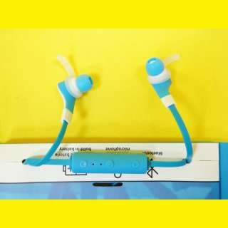 Bluetooth Headset / Sport Kopfhörer / Freisprech in Blau, Rot oder Schwarz
