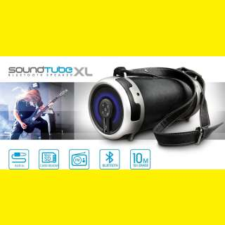 Portabler Bluetooth Lautsprecher Boombox/1800mAh/SD Karte/ GOCLEVER Sound Tube XL