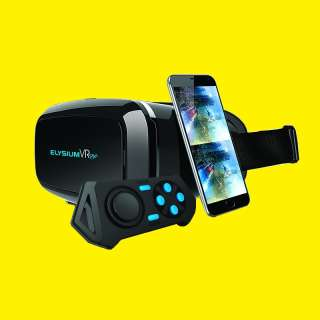 VIRTUAL REALITY BRILLE/ BLUETOTH/ ANDROID/VR BOX/ VIDEO/ GAMES/ GOOGLE CARDBOARD/GOCLEVER ELYSIUM VR plus