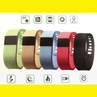 """Smartwatch Uhr Schrittzähler Bluetooth Armbanduhr Fitnessband 1,54"""" Zoll LCD Display für iOS und Android"""