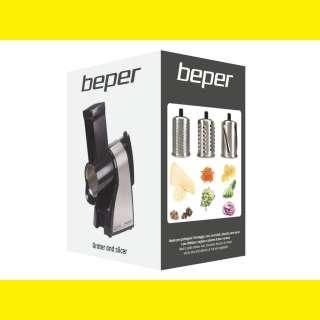 Multifunktionaler Elektrischer Gemüseschneider Gemüsereibe Gemüse Schneider Reibe Beper BP.400