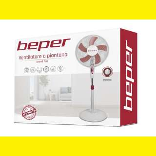 Ventilator/Designer Standventilator/Turmventilator/Lüfter 3 Stufen/5 Flügel 40cm/mit Timer