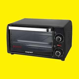 ELEKTRISCHER Minibackofen 12 Liter Pizzaofen//Toaster Ofen /Backofen 1050Watt