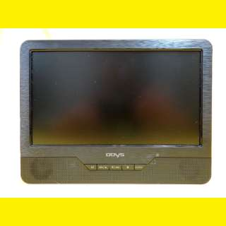 Portabler LCD-DVD-Player 9 Zoll / USB / ESP Funktion SD/MMC / 800 x 480 Pixel