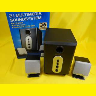 2.1 Design-Lautsprecher/aktives Sound System Lautsprecher/Subwoofer/3D Surround