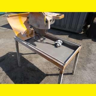 Zum MIETEN Nass-Schneidemaschine / Nass-Schneidetisch, bis 70 cm Schnittläng