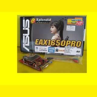 ASUS PC Grafikkarte EAX1650PRO /HTD/256MB/HDTV/DualVGA/PCI-Express