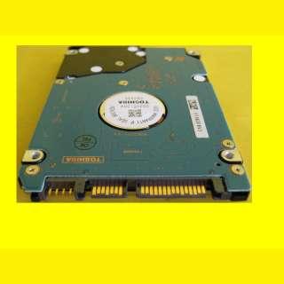Notebook FESTPLATTE 160GB TOSHIBA MK1637GSX/SATA II