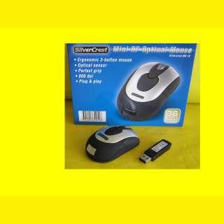 Funk Maus/Plug & Play/5m Reichweite/wireless USB Maus