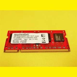 6x Swissbit 512MB DDR2/200Pin/SEN06464D1B71EP-30R