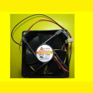 3 X Lüfter EKL FD129225LS-N 80X80 mm Gehäuselüfter